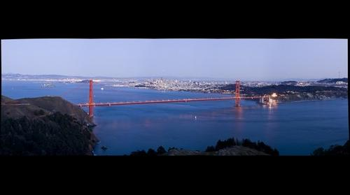 San Francisco Panorama with new Gigapan software
