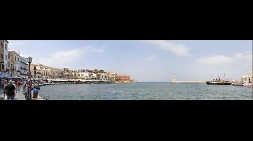 Waterfront at Hania, Crete, Greece