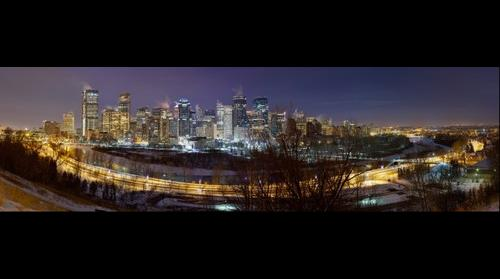 Downtown Panorama: View from Crescent Heights