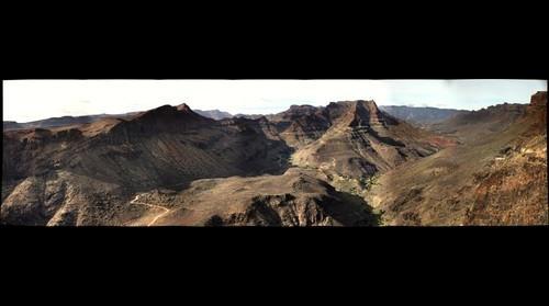 Gran Canaria mountain view