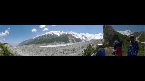 Raikot Glacier near