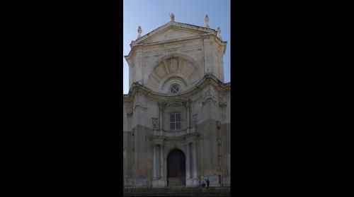 Fachada Catedral de Cadiz
