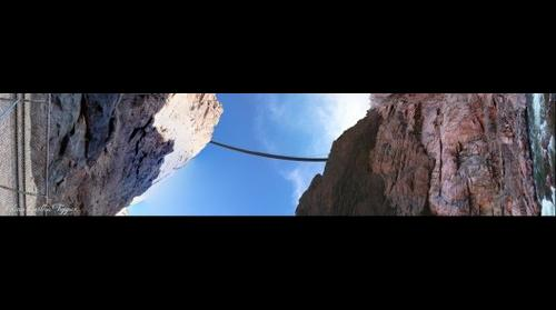 THE ROYAL GORGE FROM BELOW