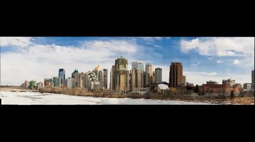 Calgary skyline 600mm