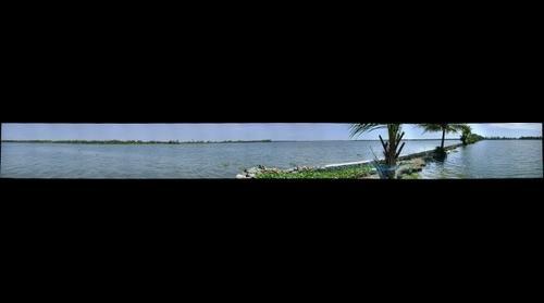 Kothad Island. Kerala, India