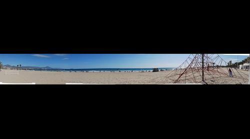 Playa de Muchavista. Alicante
