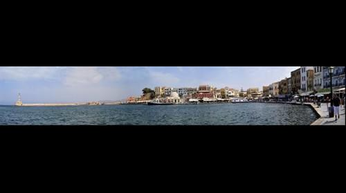 Waterfront of Hania, Crete, Greece 9 15 08 (second view)