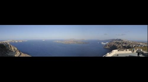 Santorini caldera, Greece  View 1