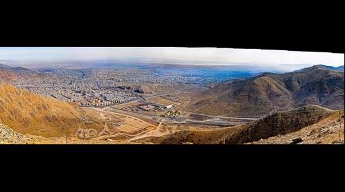 Arak city panorama