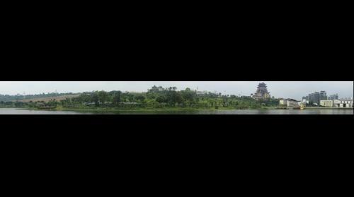 广西南宁青湖公园之一角