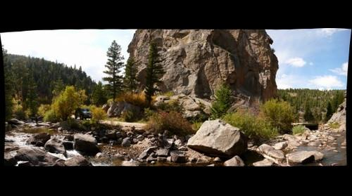 Colorado, Boulder Canyon - Boulder Creek