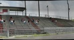 Barboursville Middle School football bleachers