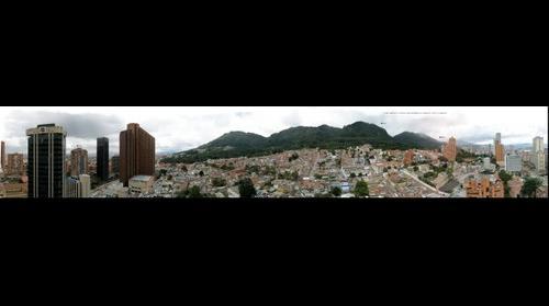 Cerros orientales de Bogota