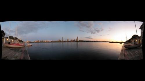 MIT Sailing Dock