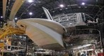 Space Shuttle Discovery Tail Cone