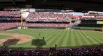 Cincinnati Reds Opening Day 2012 vs Miami Marlins