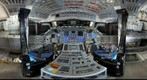 Space Shuttle Discovery Flight Deck