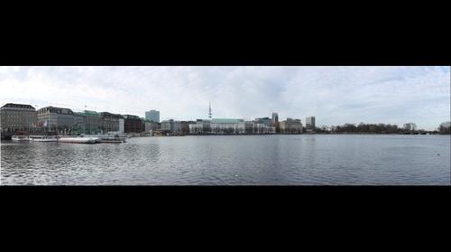 Alster-Panorama, Hamburg