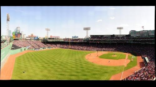 Fenway Park Left Field View