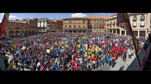 Petición del Toro Enmaromado en Benavente 2012
