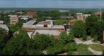 Clemson University Campus from Manning Hall April 17, 2012