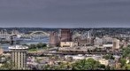 HDR Panorama of Cincinnati from Devou Park