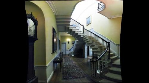 The Flying Staircase at Montpelier, the Henry Knox Mansion