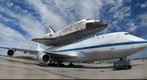 Space Shuttle Discovery Atop Carrier Aircraft