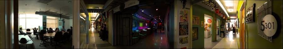 CMU Entertainment Technology Center 5th floor