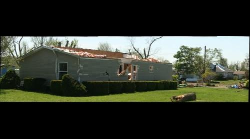 House in Thurman Iowa - Tornado 4/14/2012