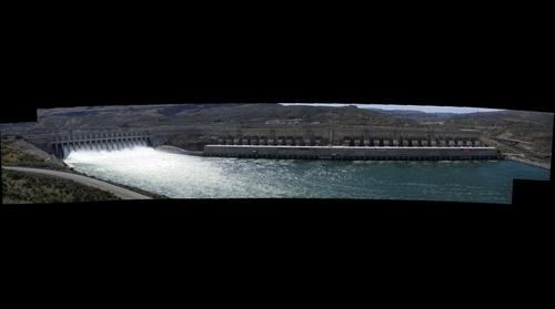 Chief Joseph dam left side
