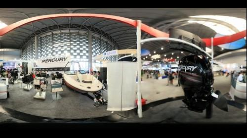 水星海事(苏州)贸易有限公司展位  2012上海国际游艇展