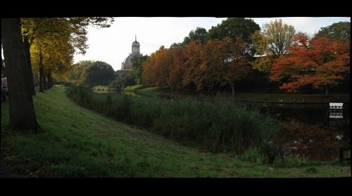 Autumn on the Veersesingel, Middelburg, Netherlands