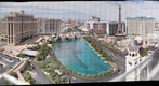 Las Vegas Strip and Bellagio Fountain From Cosmopolitan