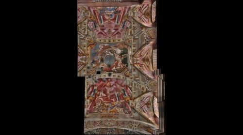 Nesvizh church of the Corpus Christi (Ceiling fragment)