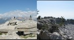 Buena Vista Yosemite's High Granite Stereoscopic 3D Side by Side Crossed View