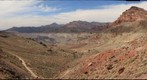 View West from Red Pass, Titus Canyon Road, Death Valley NP