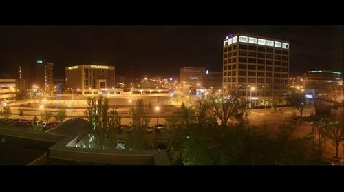 Sioux Falls Downtown at Night
