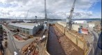 Dry Dock, Falmouth, Cornwall, England