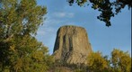 Devils Tower in a Cottonwood Frame