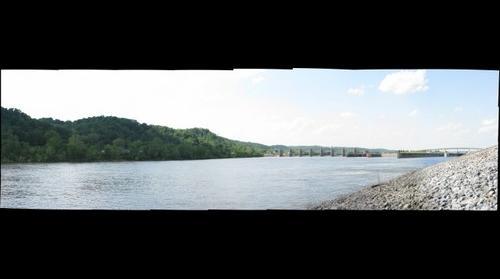 Ohio River Lock and Dam, Mason County