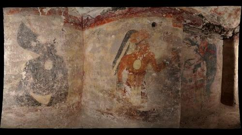 Interior Murals of Xultun Dwelling