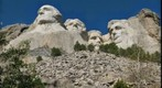 Mount Rushmore from Below