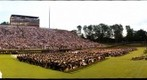 2012 Spring Graduation, Furman University, South Carolina, USA