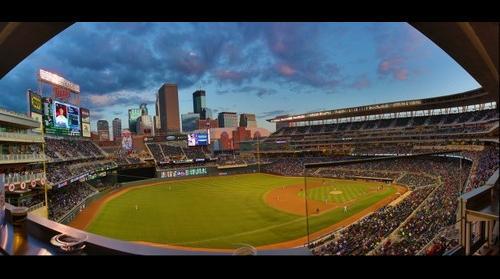 Twins Stadium Panorama