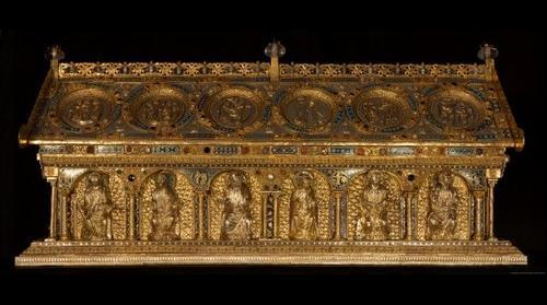 Relikviář svatého Maura - Bečov nad Teplou