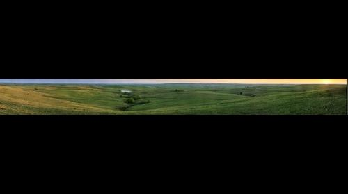 Texaco Hill Spring Sunset Gigapan