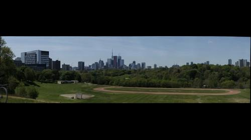 Toronto Skyline from Broadview Avenue