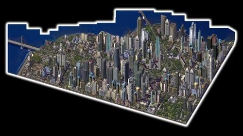 Sim City 4 – Stitched Image