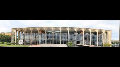 Palacio Itamaraty vista frontal